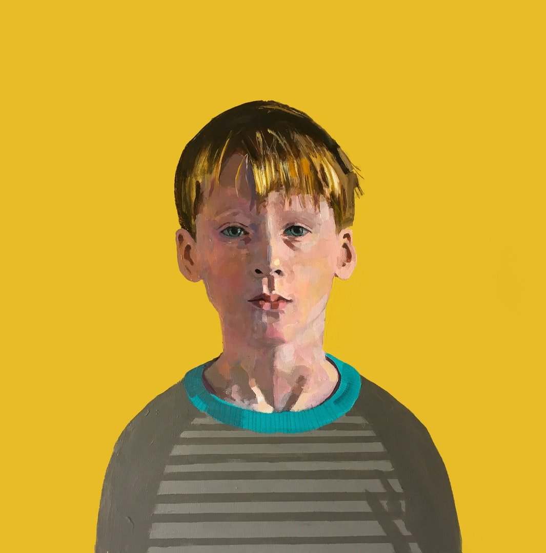 'Jacob', Roy Goodman, Acrylic, 61 x 61 x 4 cm