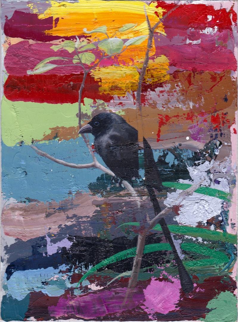 Hong Kong 1, Stephen Earl Rogers, Oil on Board, 19 x 14 x 0.4 cm