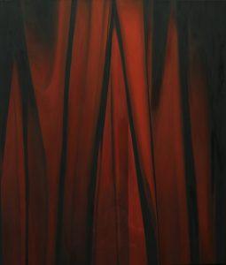 'Iron Curtain, Nowadays', Alina Pecherskaya, Oil on canvas, 190 x 160 cm