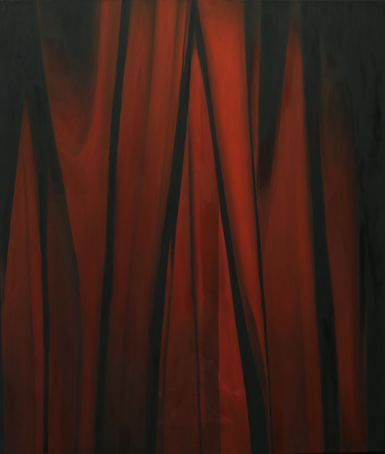 'Iron Curtain, Nowadays', Alina Pecherskaya, Oil on canvas, 190 x 160 cm