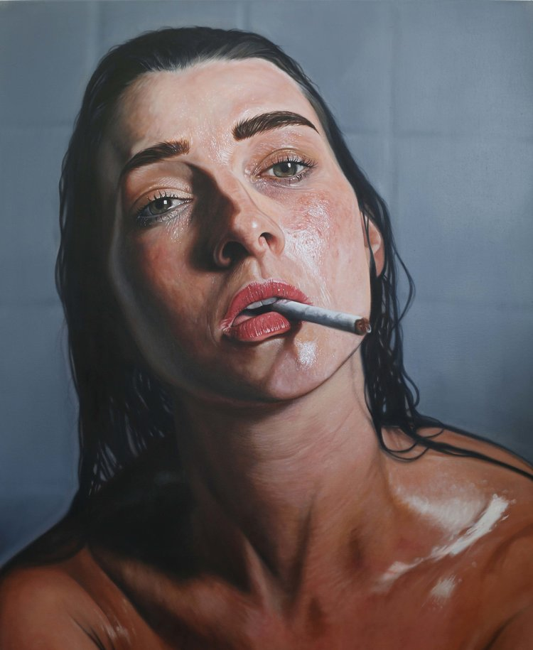 'Amy', Anton Byrne-Carter, Oil on Canvas, 153 x 122 x 4.5 cm