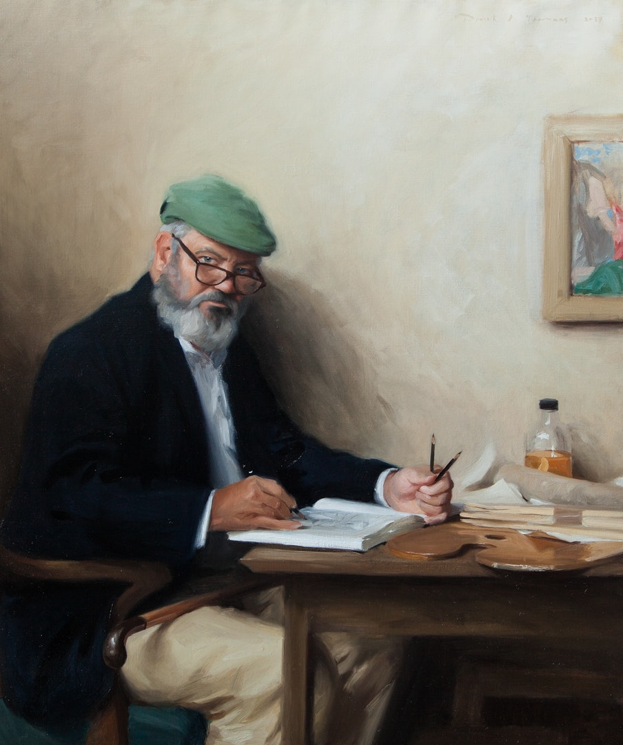 'Dystonia & I; The Rennaissance of Self', Daniel Yeomans, Oils on canvas, 130 x 110 x 5 cm