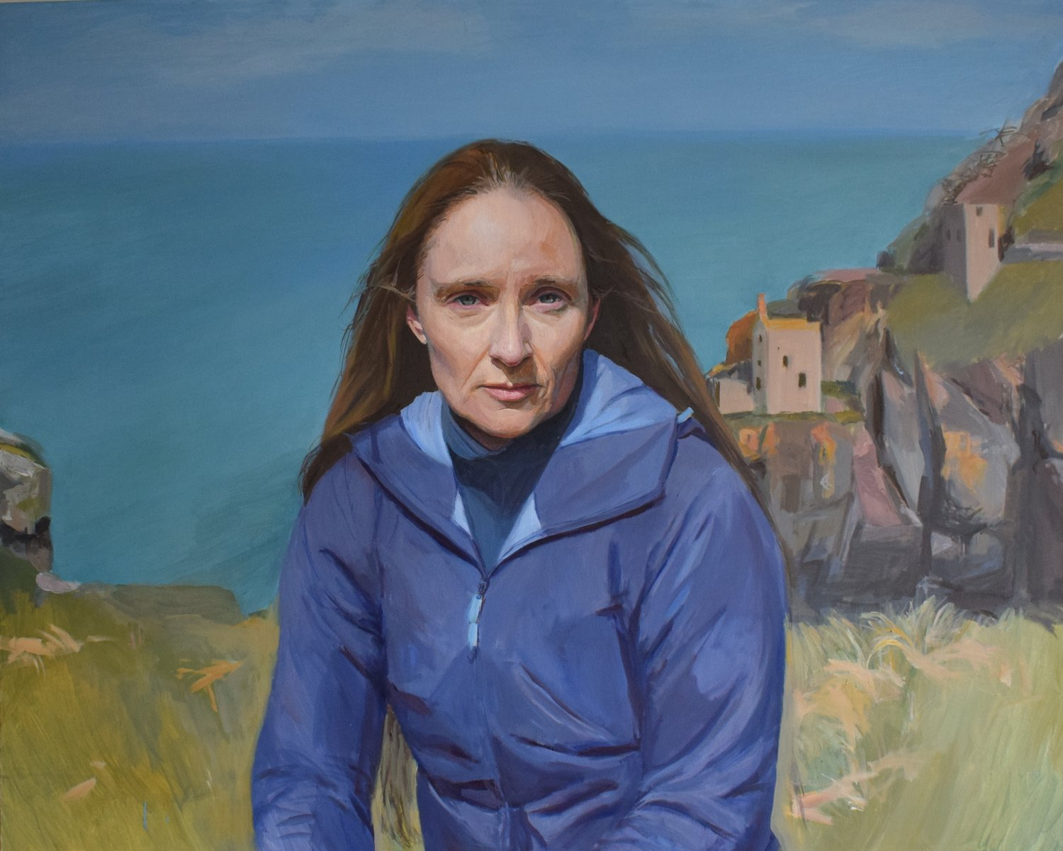 'Kathryn', Hero Johnson, Oil on canvas, 80 x 100 cm