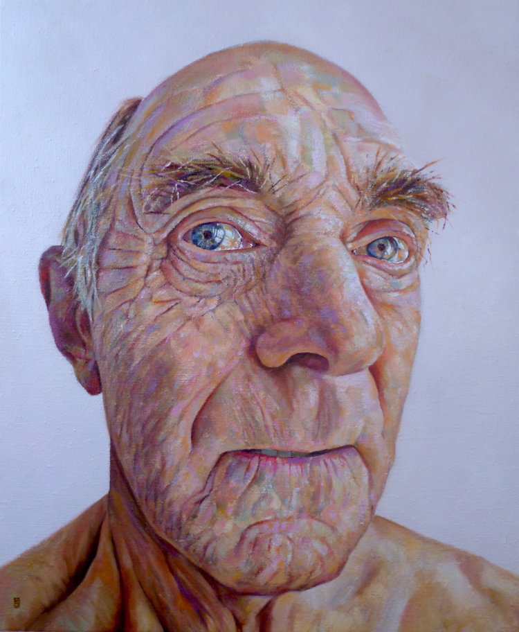 'Jeff', Geoff Shillito, Oil on Linen, 63 x 53 cm