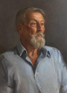 'Tony', Ben Laughton Smith, Oil, 88 x 63 x 4 cm
