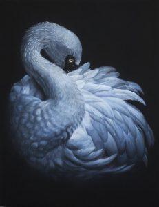 'In the dark', Vera Evseeva, Pastel, pastel pencils on paper, 30 x 40 cm