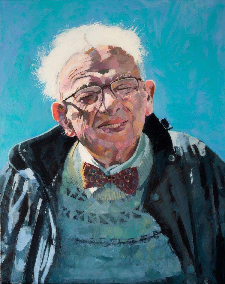 'Dad', Roy Goodman, Acrylic, 51 x 31 cm