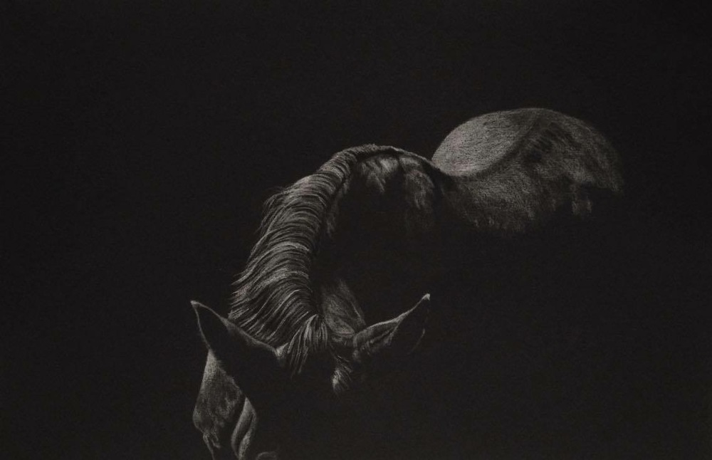 'Untitled', Alison Tubritt, Pencil on paper, 21 x 29.7 cm