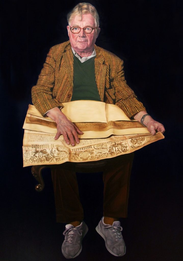 'Here I Am : John', Caroline Pool, Oil on canvas, 76 x 102 cm