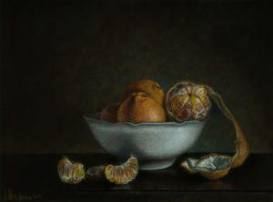 'Citrus', Alexandr Shestakov, Coloured pencils on paper, 36 x 27 cm