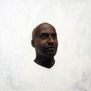 'Mr Jonathan', Amir Agha, Oil on panel, 65 x 65 cm