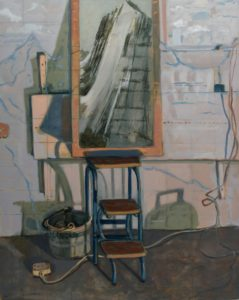 'Lenora', Angelina Davis, Oil on canvas, 152 x 122 cm