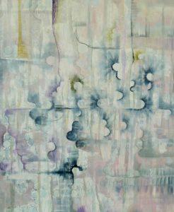 'Collide', Berenice Fugard, Oil on linen, 120 x 100 cm