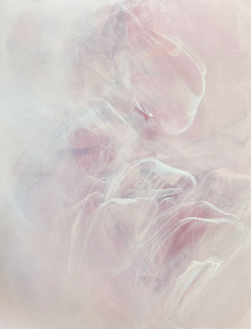 'After a long time away, yes how far it is we've come', Catherine Chen, Acrylic on canvas, 150 x 115 cm