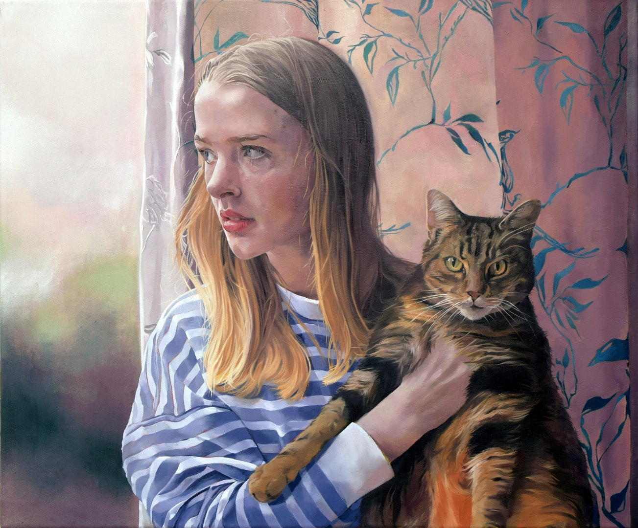 'Safe Place', Catherine Macdiarmid, Oil on canvas, 50 x 60 cm