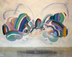 'Yucca Flat', Charles Inge, Acrylic on canvas, 160 x 120 cm