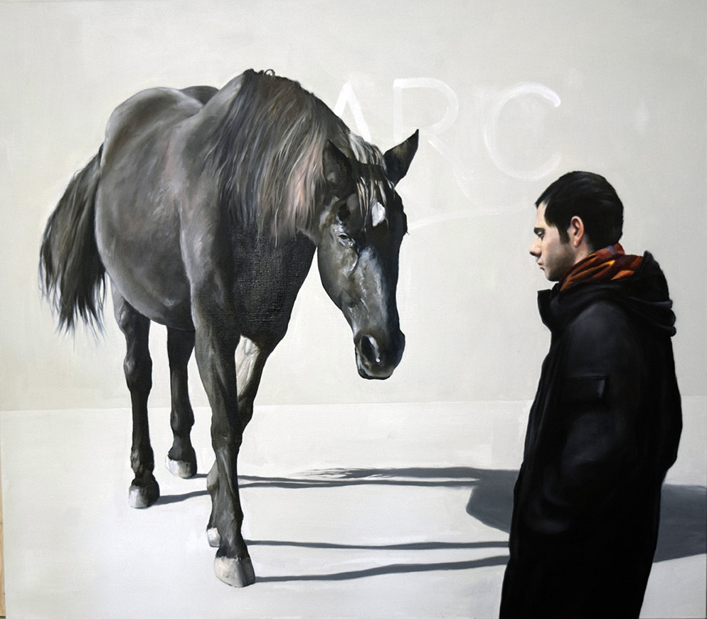 'Dreaming of the Arc', Chris Stevens, Oil on canvas, 150 x 170 cm