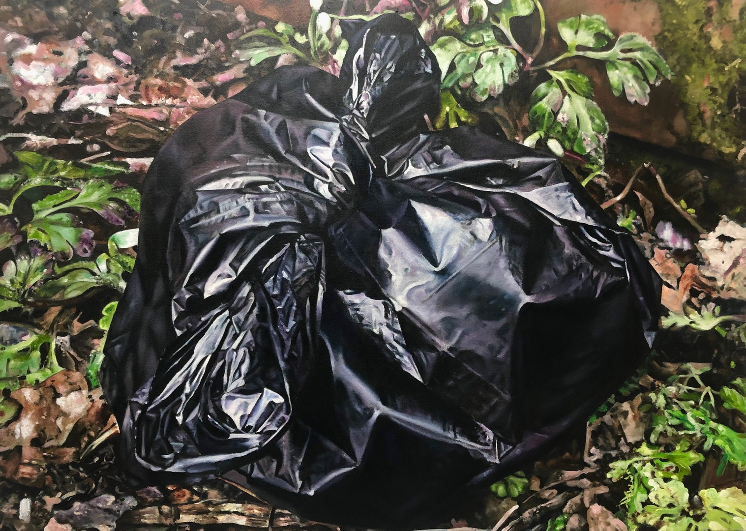 'Single Use', Christopher Campbell, Oil on canvas, 55 x 75 cm