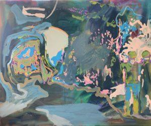 'Astro-Gulliver', Craig Barber, Acrylic on linen, 105 x 120 cm