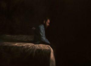 'Love -Self Portrait 5', Cris DK, Oil on canvas, 150 x 120 cm