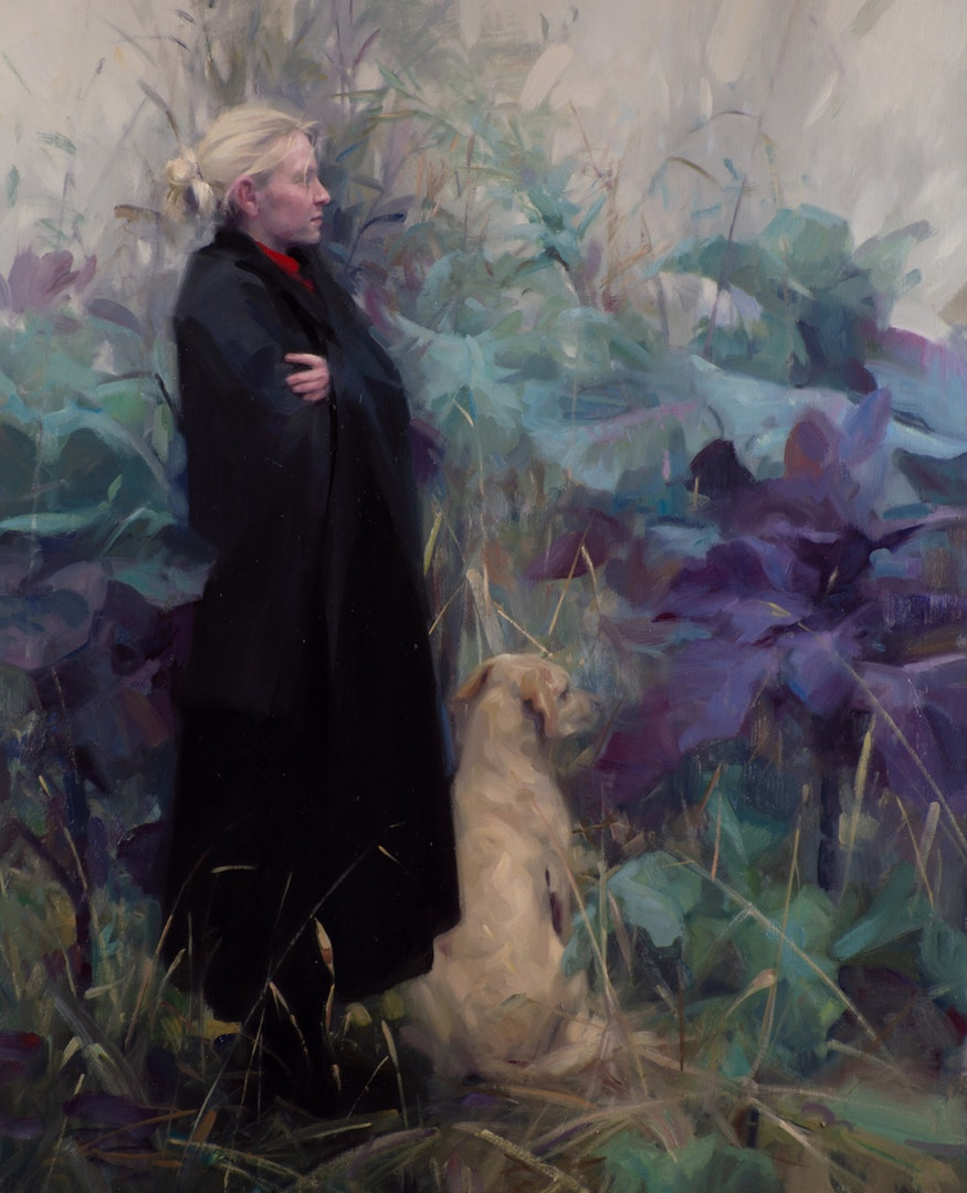 'Maggie', Frances Bell, Oil on canvas, 85 x 70 cm