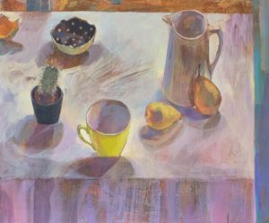 'Shades of Yellow', Gabriella Buckingham, Acrylic on canvas, 51 x 61 cm