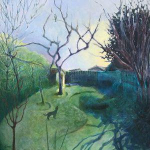 'Psalm 139', Gillian Stevens, Acrylic, 50 x 50 cm