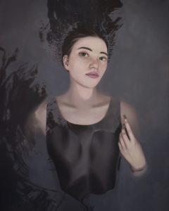 'Forgotten Memories: George', Grace Qian, Oil on canvas, 122 x 132 cm