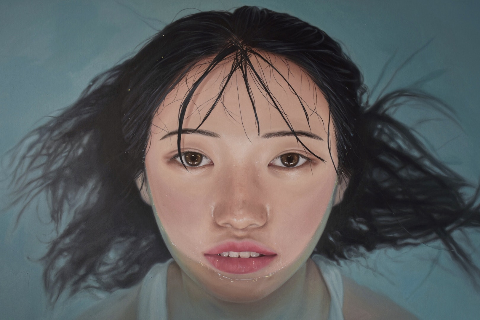 'Forgotten Memories: Jessica', Grace Qian, Oil on canvas, 102 x 152 cm