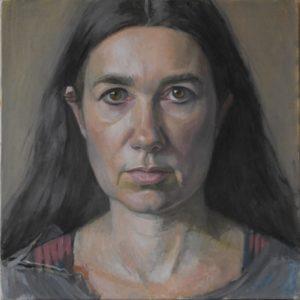 'Self Perception', Hero Johnson, Oil on canvas, 30 x 30 cm