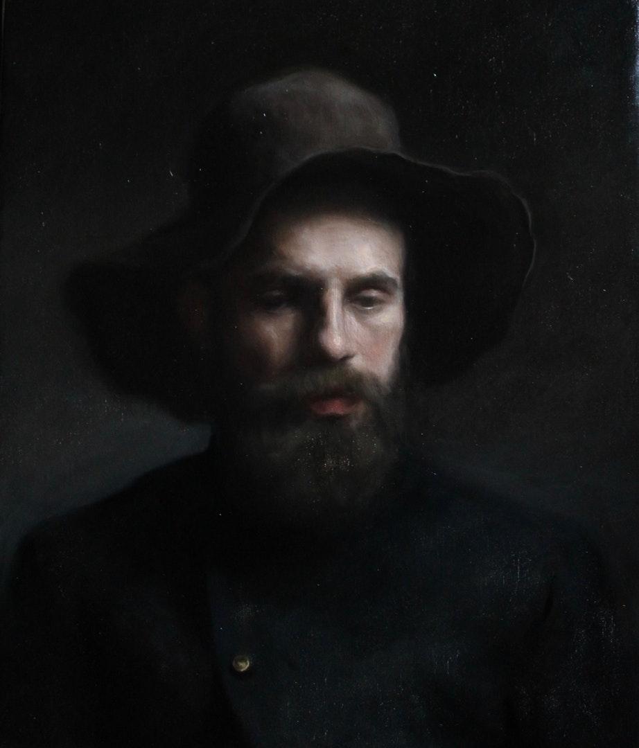 'Donato', Isabella Gibbs, Oil on linen, 50 x 60 cm