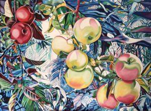 'Avatar', Joanna Szumska, oil, canvas, 110 x 150 cm