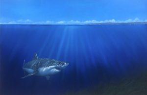 'Pacific Explorer', Jonathan Truss, Oil on canvas, 152 x 101 cm