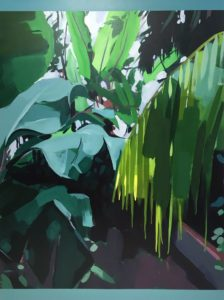 'Understory', Josephine Clouting, Acrylic on board, 122 x 92 cm