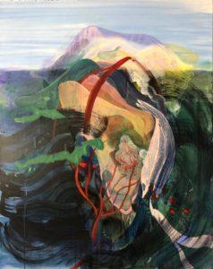'Untitled', Justine Formentelli, Acrylic on canvas, 100 x 80 cm