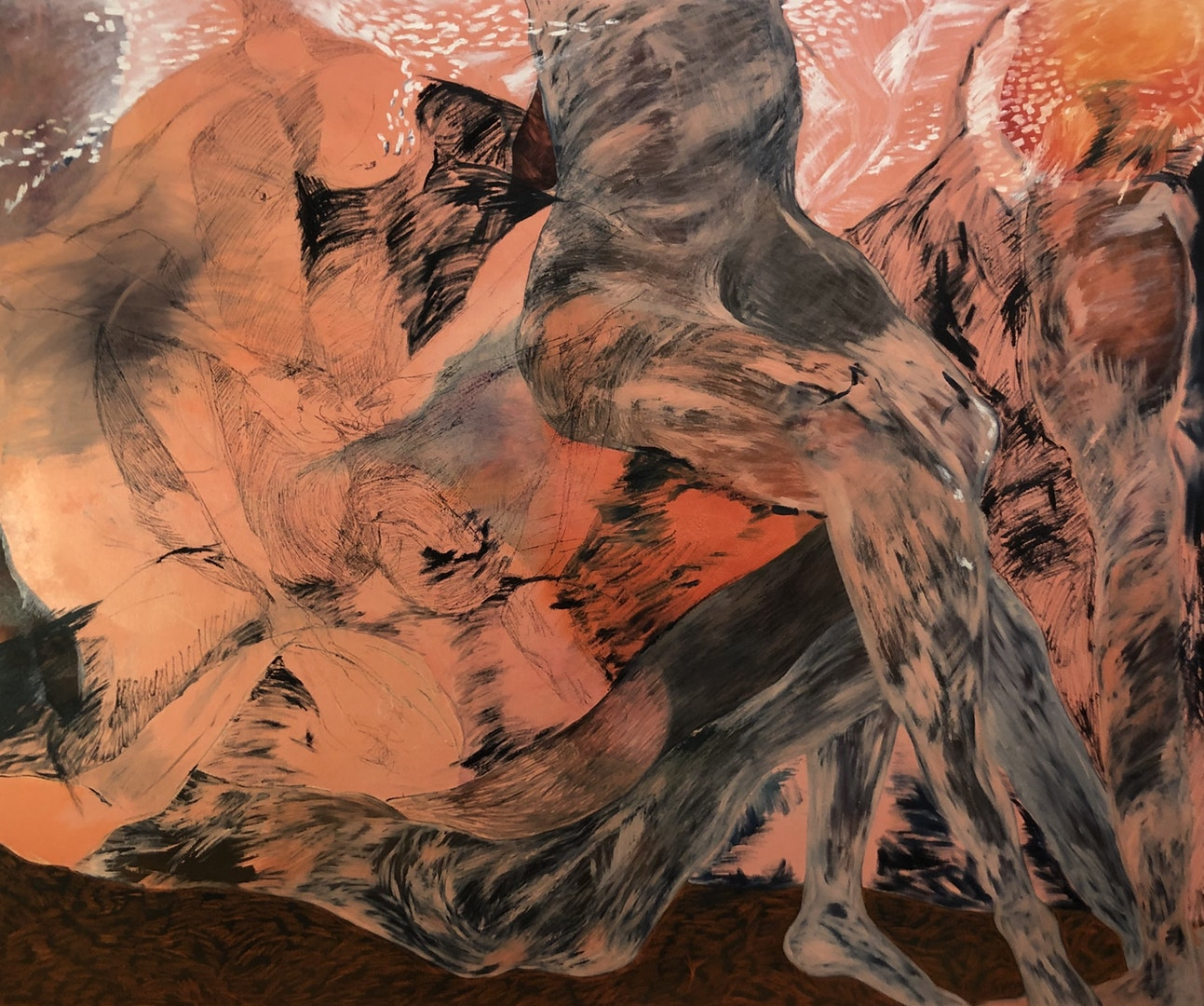 'Body II', Lucy Neish, Oil on canvas, 180 x 140 cm