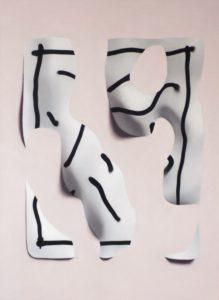 'Jeu de mains: ciseaux', Marcos Uriondo, Oil on canvas, 100 x 73 cm