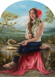 'Great Strides', Nancy Hollinghurst, Oil on linen panel, 152.4 x 116.84 cm