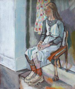 'Bernie', Nicola FitzGerald, Oil on canvas, 36 x 30 cm