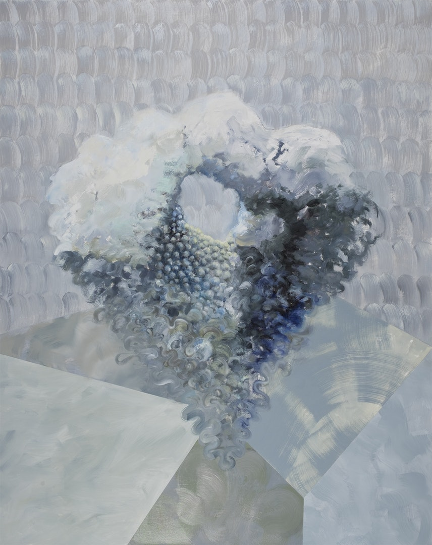 'Glimpse 26', Oya Allen, Oil on canvas, 150 x 120 cm