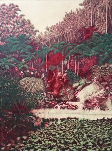 'Pukekura', Robyn Litchfield, Oil on linen, 92 x 68 cm