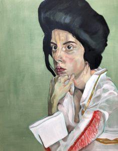 'Viva Las Vegas', Rosa Luetchford, Oil on canvas, 120 x 100 cm