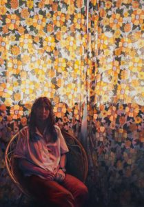 'Bertha', Ruth Murray, Oil on canvas, 122 x 172 cm