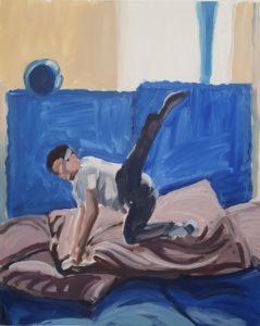 'Joe (i)', Sally Pennington, Acrylic on Duralar Matte film, 51 x 41.3 cm