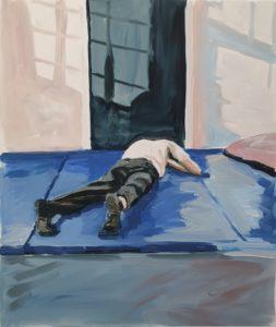 'Joe (ii)', Sally Pennington, Acrylic on Duralar Matte film, 51.5 x 44 cm