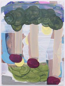 'Trotter', Sinead Aldridge, Oil on board, 50 x 40 cm
