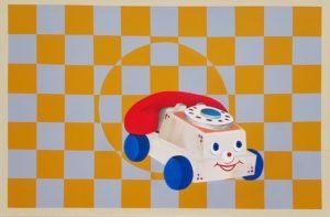 'Be My Medicine', Tyler Watson, Acrylic on canvas, 61 x 91 cm