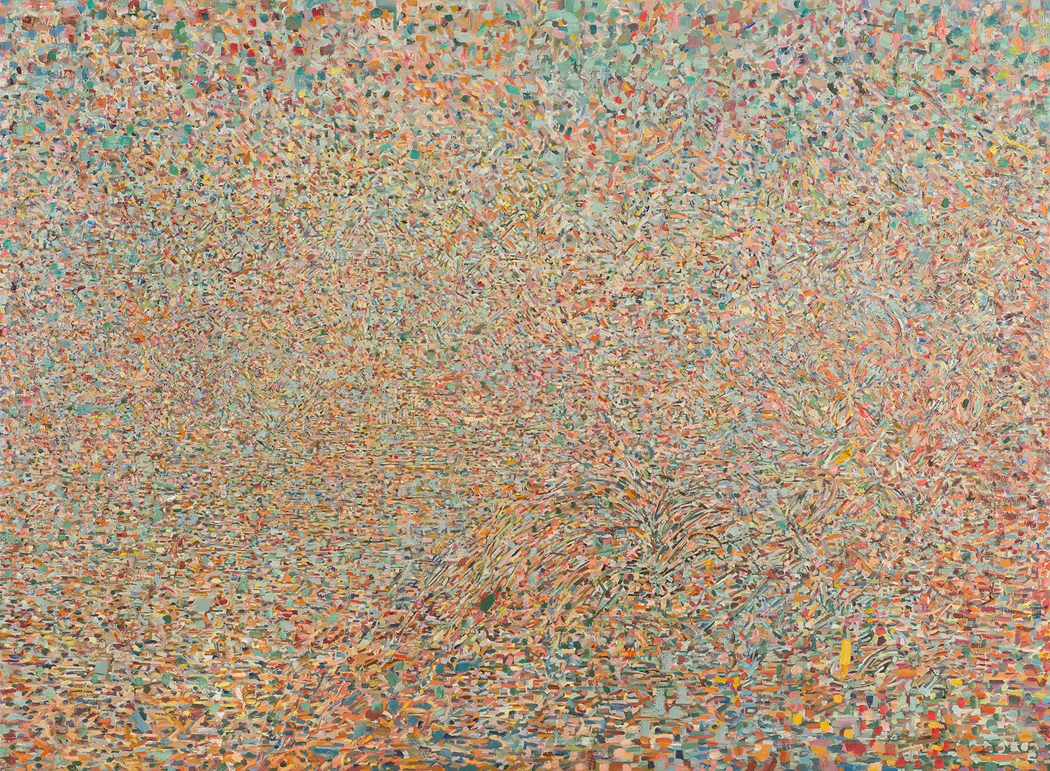 'Kigali', Zohar Cohen, Oil on linen, 289 x 252 cm