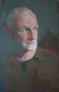 'Giora', Zohar Tal Inbar, Oil on canvas, 70 x 50 cm