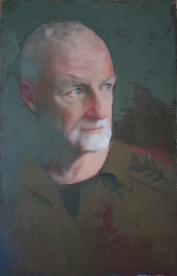 'Giora', Zohar Tal Inbar, Oil on canvas, 70 x 50 cm